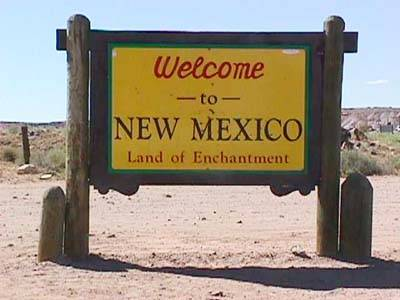 Derrickdaze derrick smith picture this page 170 new mexico welcome sign m4hsunfo
